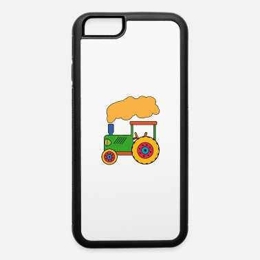 Agriculture Green tractor customizable - iPhone 6/6s Rubber Case