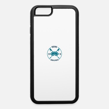 Cloud Skiing Snow Sports 2018 - iPhone 6/6s Rubber Case