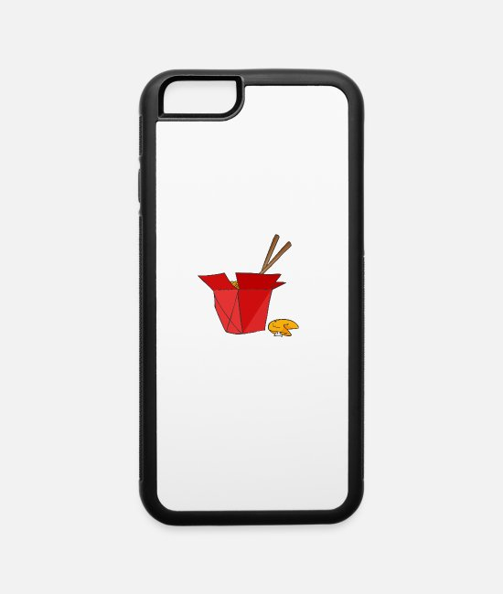 Cookie iPhone Cases - Noodles and Cookie - iPhone 6 Case white/black