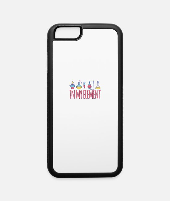 Nature iPhone Cases - in my element - iPhone 6 Case white/black