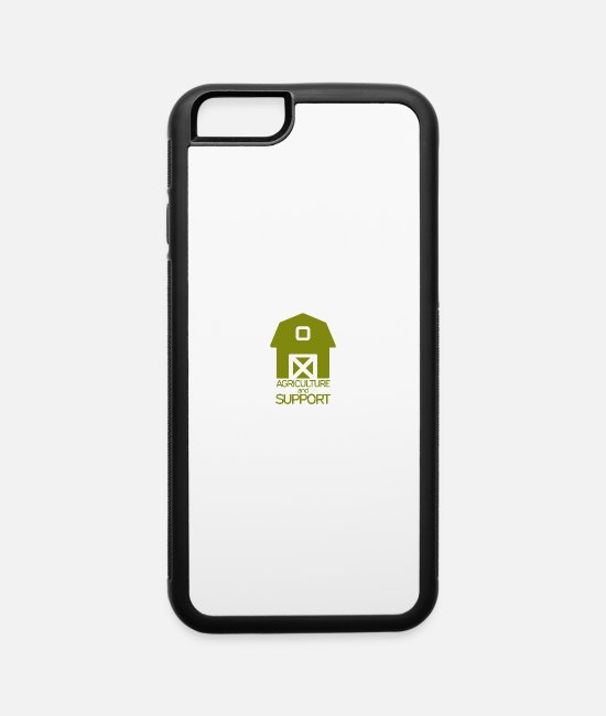 Agriculture And Support iPhone Cases - Agriculture and support - iPhone 6 Case white/black