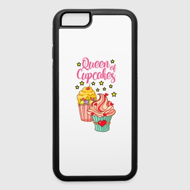 Cupcake Muffin Bakery Cake Candy Sweets Cookie - iPhone 6/6s Rubber Case