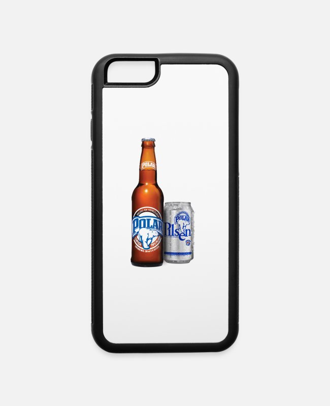 Venezuela iPhone Cases - La mejor cerveza de Venezuela - iPhone 6 Case white/black