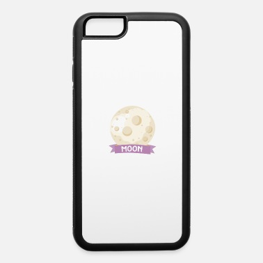 Rectangle Planet Moon Space gift - iPhone 6/6s Rubber Case