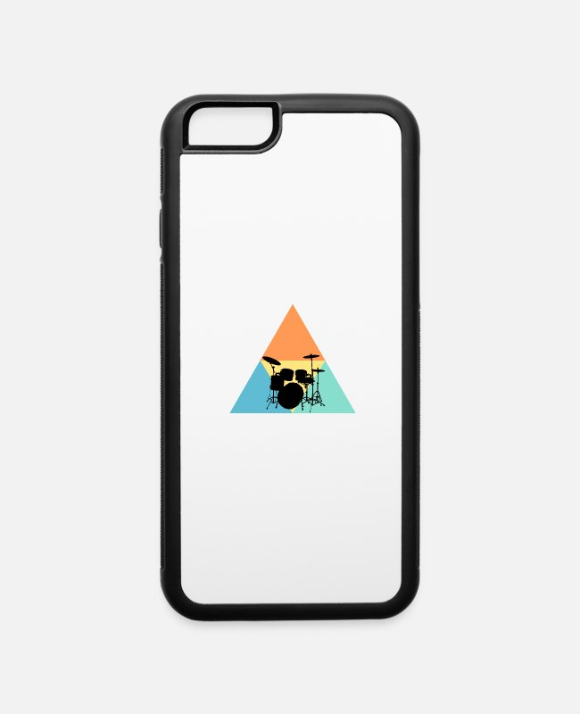 Drummer iPhone Cases - Drums - iPhone 6 Case white/black