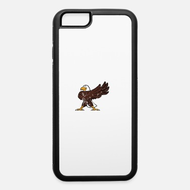 Nerd Retro Vintage Grunge Style Dabbing Dab Sea Eagle - iPhone 6/6s Rubber Case
