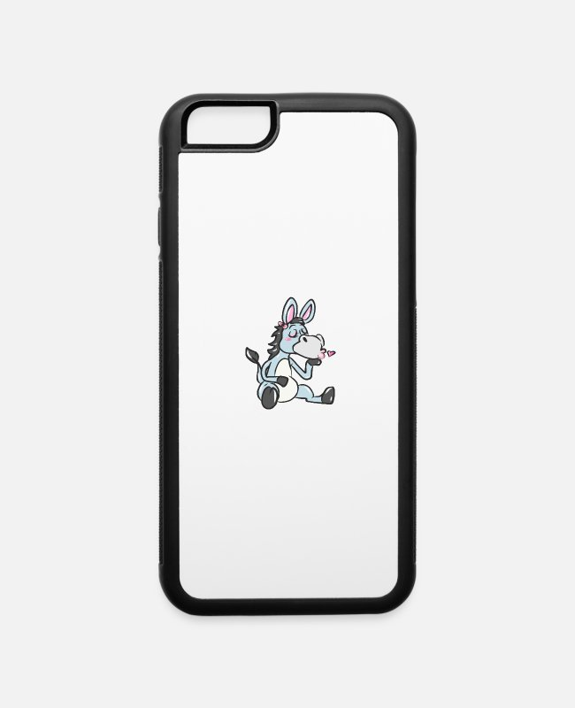 Donkey iPhone Cases - Donkey - iPhone 6 Case white/black