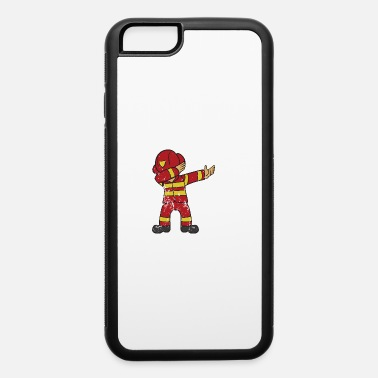 Boy Retro Vintage Grunge Style Dabbing Dab Firefighter - iPhone 6/6s Rubber Case