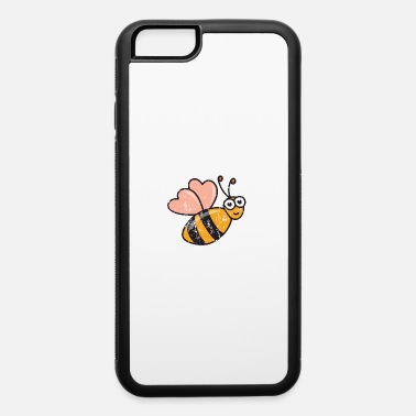 Bee Retro Vintage Grunge Style Beekeeper Beekeeping - iPhone 6/6s Rubber Case
