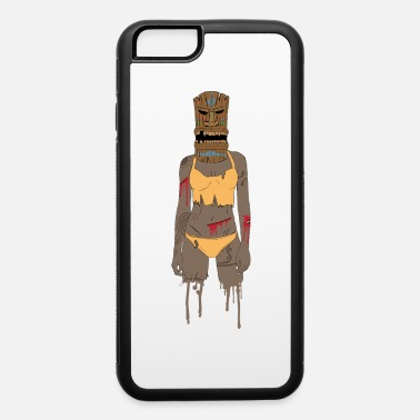 Tiki Tiki warrior - iPhone 6/6s Rubber Case