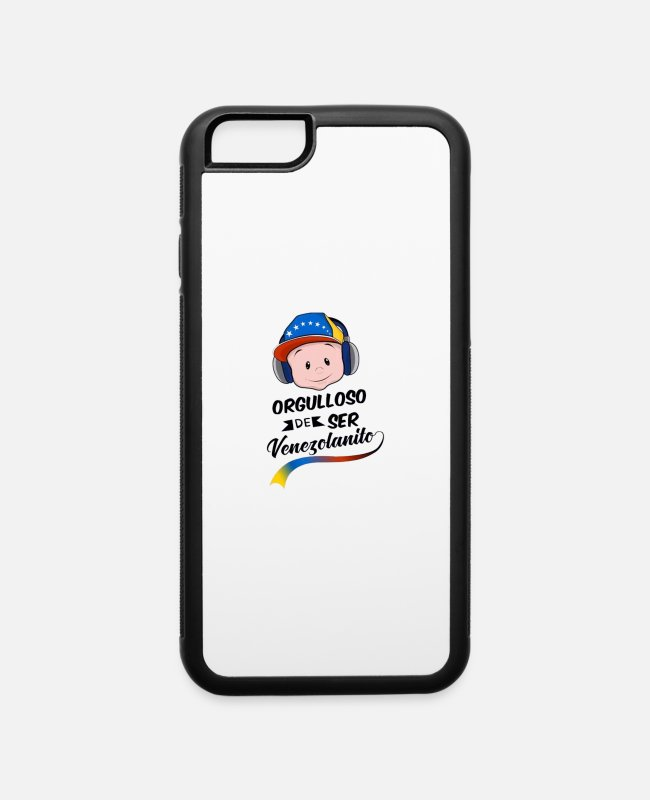 Venezuela iPhone Cases - orgulloso de ser venezolano - iPhone 6 Case white/black