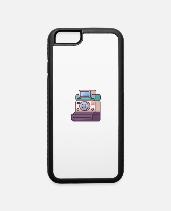 Immortalize iPhone Cases - Polaroid Camera - iPhone 6 Case white/black