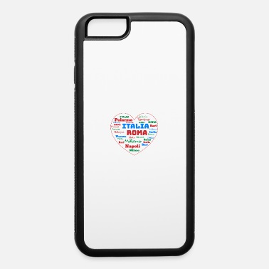 Cuore ITALY HEART ITALIA CUORE WORD CLOUD HOLIDAY (AZUR) - iPhone 6 Case