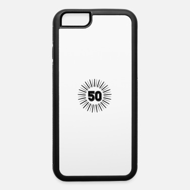 Round Birthday 50 Years Birthday Round Rays - iPhone 6 Case