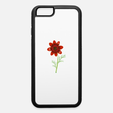 Floret Summer Adonis florets in bright red - iPhone 6 Case