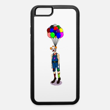 Clown hanging on balloons - iPhone 6 Case