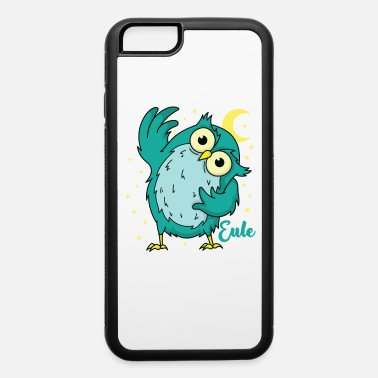 Owl greets sleeping Type Nocturnal Moon Asterisk - iPhone 6 Case
