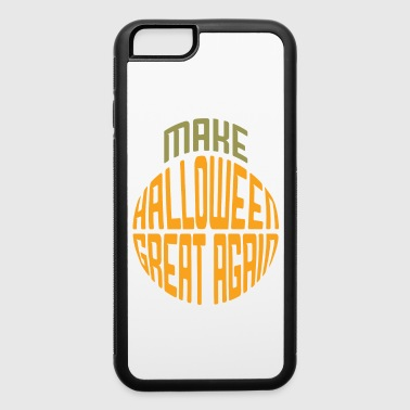 Make Halloween Great Again Pumpkin Shape - iPhone 6/6s Rubber Case