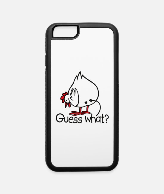 Allergy iPhone Cases - Guess what - iPhone 6 Case white/black