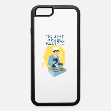 Cuisine The secret to his best recipes W PNG - iPhone 6 Case