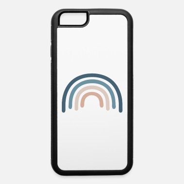 Retro Retro Rainbow 70s colors - iPhone 6 Case