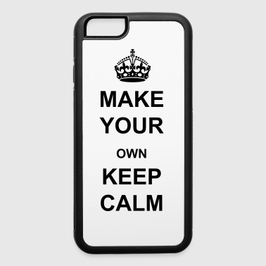 Keep Calm and Carry On Crown - iPhone 6/6s Rubber Case