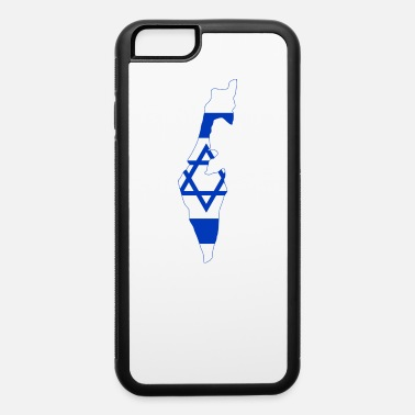 Israel Map Flag of Israel - iPhone 6 Case