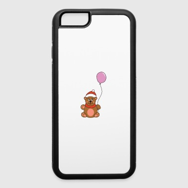 Advent Funny Cute Cool Teddy Bear Christmas Xmas - iPhone 6/6s Rubber Case
