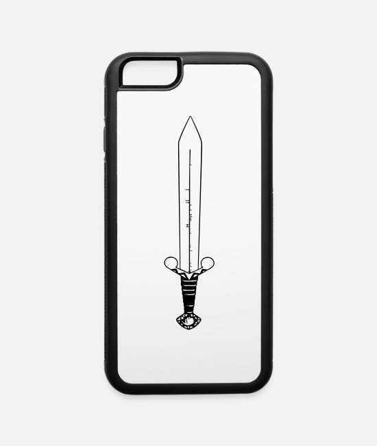 Thor iPhone Cases - sword - iPhone 6 Case white/black