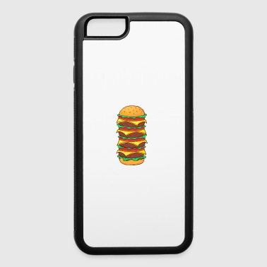 Cheeseburger Burger Fast Food Hamburger Cheesburger Barbecue - iPhone 6/6s Rubber Case