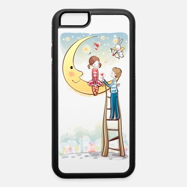 Valentine's Day valentines day cartoon pictures  - iPhone 6/6s Rubber Case