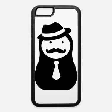 Matroshka russian matryoshka doll with moustaches and hat - iPhone 6 Case