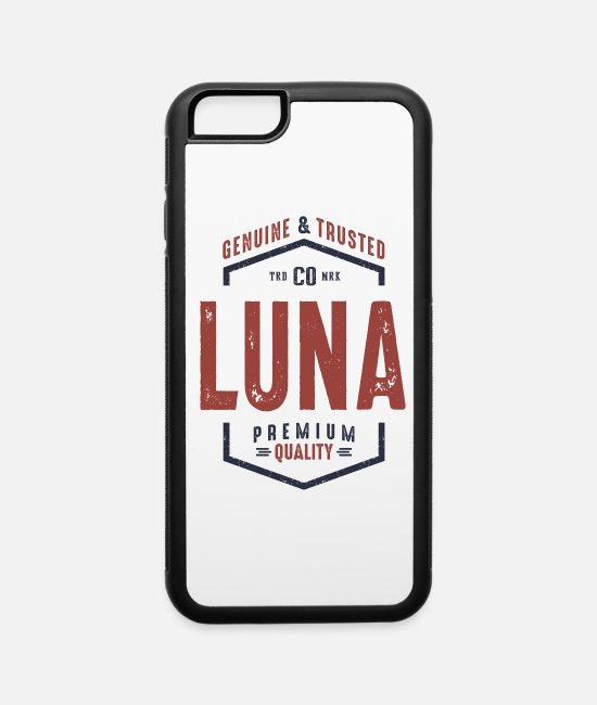 Teenager iPhone Cases - Genuine and Trusted Luna - iPhone 6 Case white/black