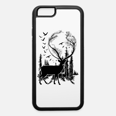 Nature Deer in Nature t-shirt for nature lovers! - iPhone 6 Case