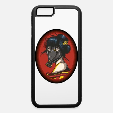Almost Steampunk Lady - Gas Mask Geisha - iPhone 6 Case