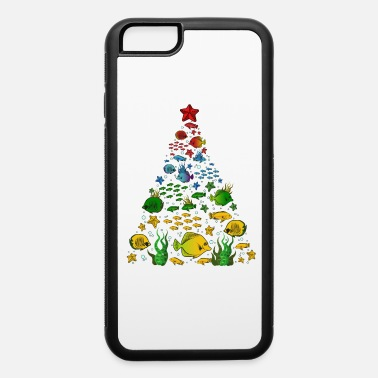 Tradition Fish Lovers Sea Beach Aquatic Christmas Tree - iPhone 6 Case