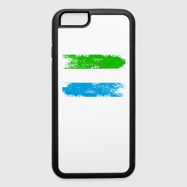 Sierra Leone Shirt Gift Country Flag Patriotic Travel Africa Light - iPhone 6/6s Rubber Case