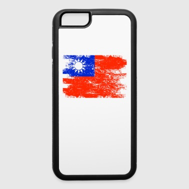 Taiwan Shirt Gift Country Flag Patriotic Travel Asia Light - iPhone 6/6s Rubber Case