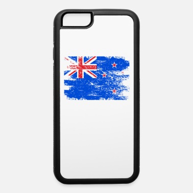 Soccer New Zealand Shirt Gift Country Flag Patriotic Travel Oceania Light - iPhone 6/6s Rubber Case