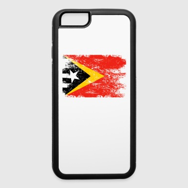 East Timor Shirt Gift Country Flag Patriotic Travel Asia Light - iPhone 6/6s Rubber Case