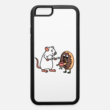 Mouse Donat Rat Mouse Rodent Pets Fast Food Muffin Kids - iPhone 6 Case