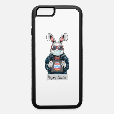 Happy Easter 2020 bunny with mouth mask - iPhone 6 Case