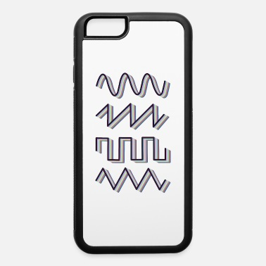 Synth Wave Synthesizer Synth Audio Analog Waves - iPhone 6 Case