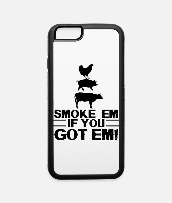 Grillmaster iPhone Cases - Born to grill - iPhone 6 Case white/black
