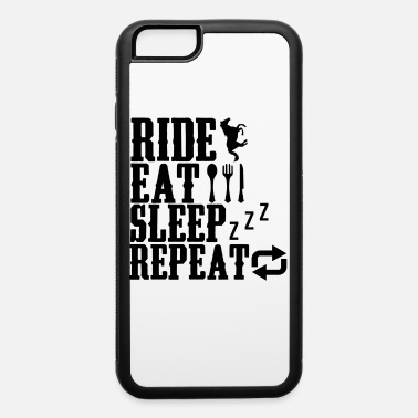 Riding School riding riding rider aphorisms riding school saddle - iPhone 6 Case
