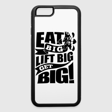 Get Big Gym Sports Quotes - iPhone 6/6s Rubber Case
