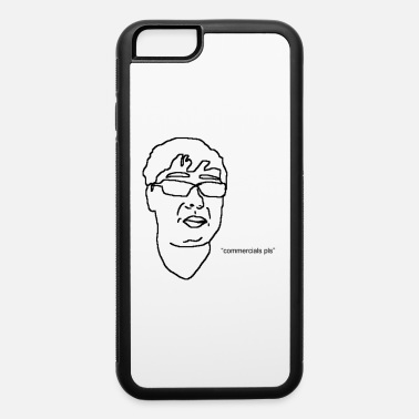Ethan Ethan's Face Outline Black - iPhone 6/6s Rubber Case