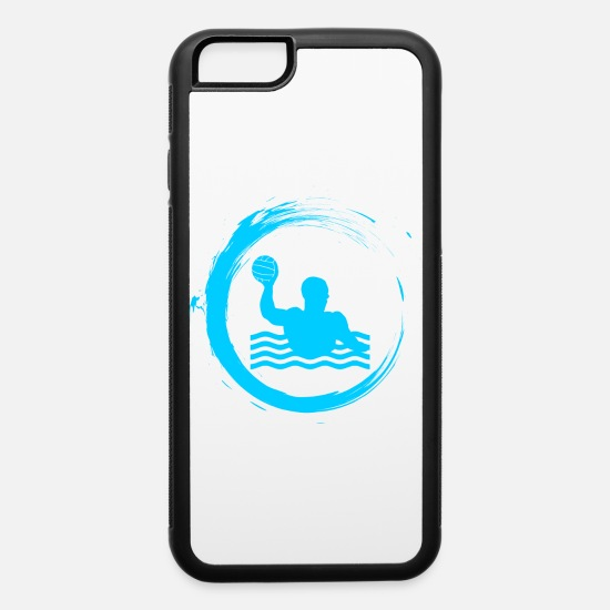 Water iPhone Cases - water polo sport water sports - iPhone 6 Case white/black