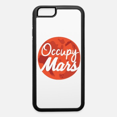 Marshmallow elon musk occupy mars - iPhone 6/6s Rubber Case