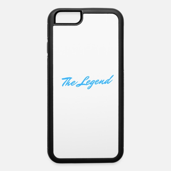 Strong iPhone Cases - The Legend - iPhone 6 Case white/black